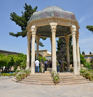 Shiraz-Tomb of Hafez