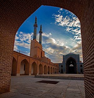 Yazd-Friday-Mosque